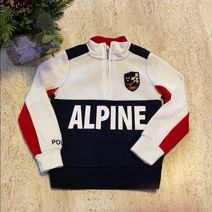 Polo Ralph Lauren Quarter Zip Sweatshirt